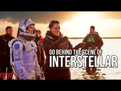 "GO BEHIND THE SCENES OF  ""INTERSTELLAR"" 