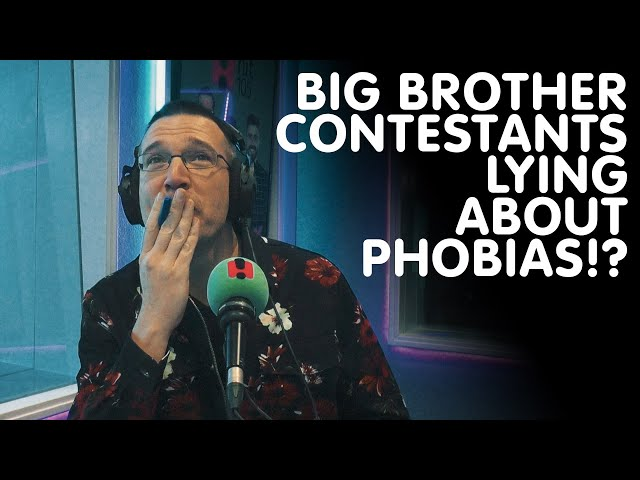 Big Brother Contestants Lying About Phobias!? | Hit105