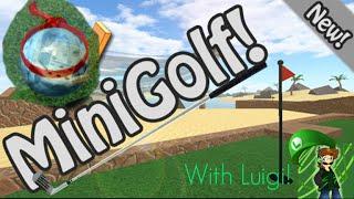 Roblox Minigolf With Luigi! Trickshots 'n Fails!