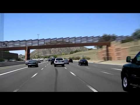 Arizona State Highway 51 Scottsdale to Downtown Phoenix