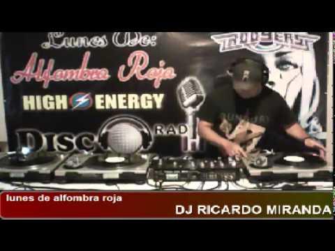 DJ RICARDO MIRANDA EN LUNES DE ALFOMBRA ROJA CON SONIDO ROOYERS