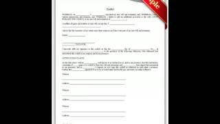 Free printable legal documents forms