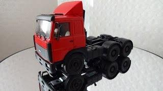 видео Модель МАЗ 1:43 купить - масштабная модель МАЗ