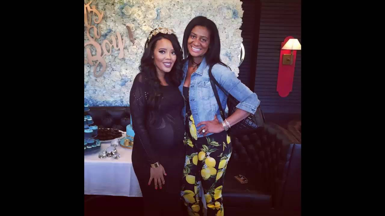 BABY BLUES! Angela Simmons & Family Celebrate Baby Boy's Arrival With  Intimate NYC Baby Shower - YouTube