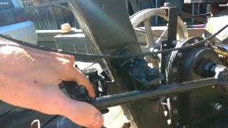 Усовершенствование переключателя скоростей ,для удобной езды на мотоблоку каскад и целина