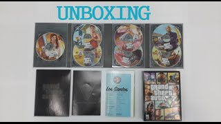 UNBOXING Gta V PC  [bahasa Indonesia]