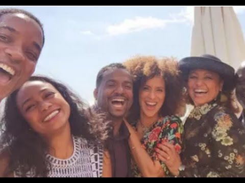 Will Smith Reunites With The Cast Of 'The Fresh Prince Of BellAir'. Is The  Coming Back?