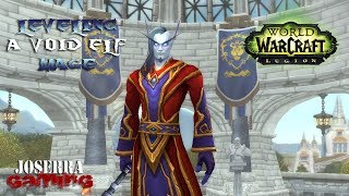 🔥WoW: Legion - 7.3.5 Leveling a Void Elf Mage live 66-71❄ 05/10/2018