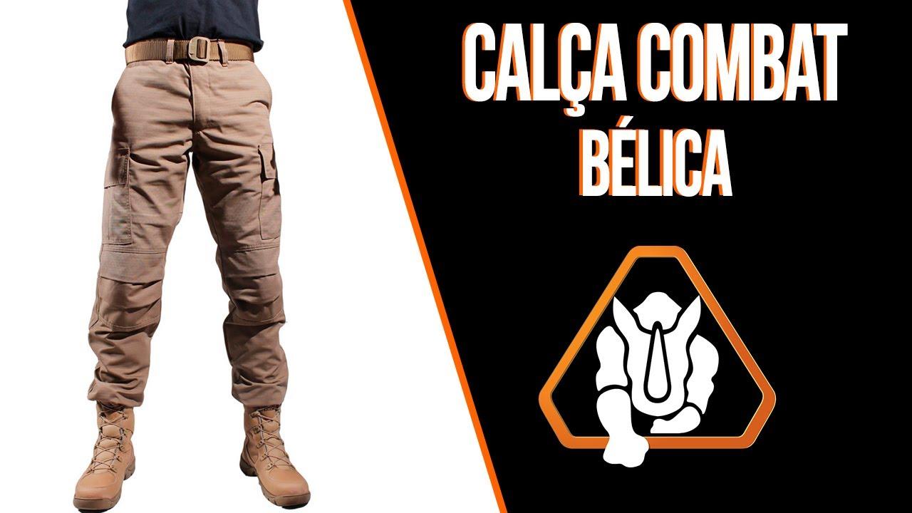 7a9d3c1fb Review - Calça Tática Bélica Combat. Treme Terra