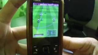 Nokia 5630xm - Playing Real Soccer 2009 Gameplay HD