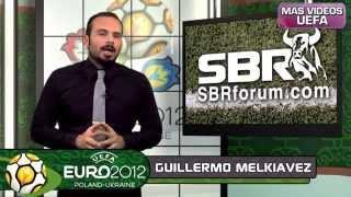 España vs Italia - Eurocopa 2012 Polonia Ucrania - Apuestas