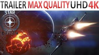 Star Citizen - Trailer - M50 Ship - Max Quality Ultra HD - 4K - (PC)