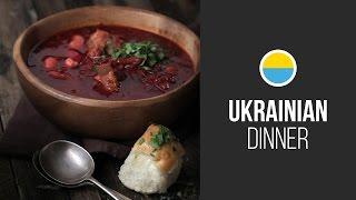 Ukrainian Borscht || Around The World: Ukrainian Dinner On Euromaidan || Gastrolab