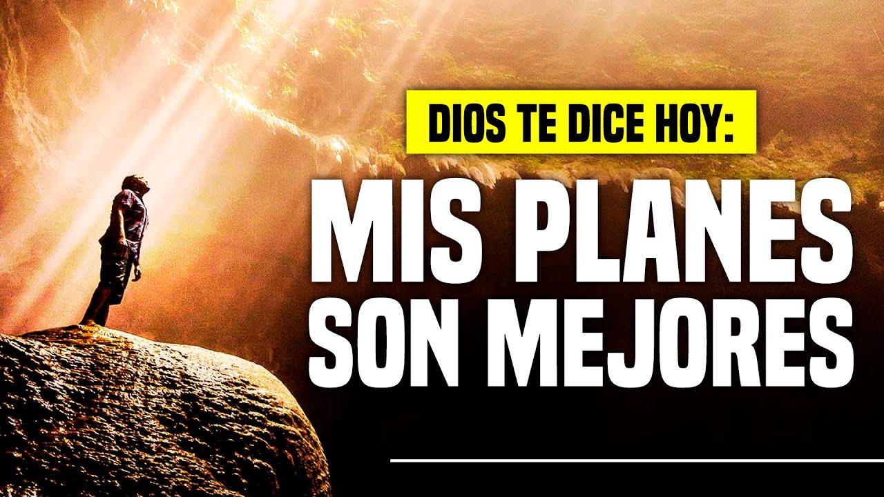 "@DIOS TE DICE HOY: ""𝗖𝗢𝗡𝗙𝗜𝗔 𝗘𝗡 𝗠𝗜𝗦 𝗣𝗟𝗔𝗡𝗘𝗦 𝗣𝗢𝗥𝗤𝗨𝗘 𝗠𝗜𝗦 𝗣𝗘𝗡𝗦𝗔𝗠𝗜𝗘𝗡𝗧𝗢𝗦 𝗦𝗢𝗡 𝗠𝗔𝗦 𝗔𝗟𝗧𝗢𝗦 𝗤𝗨𝗘 𝗟𝗢𝗦 𝗧𝗨𝗬𝗢𝗦"" 😇"