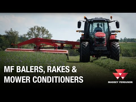 Hesston Round Balers, Rotary Rakes, Mower Conditioners And Square Balers
