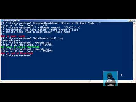 PowerShell Regular Expressions made EASY