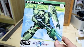 144 - NG ZGMF-1000 Zaku Warrior UNBOXING