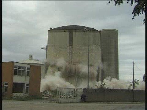 Zuckerfabrik Lehrte - Silosprengung