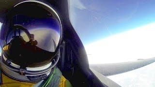 U-2 Spy Plane At Extreme Altitude - Cockpit View At 70,000 Feet