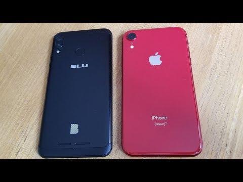 BLU Vivo XL4 vs Iphone XR - Fliptroniks.com