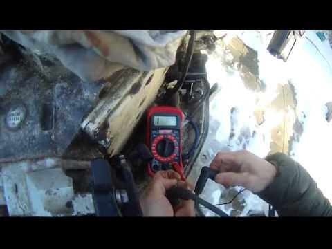 Johnson 90 hp outboard spark plug ohm test