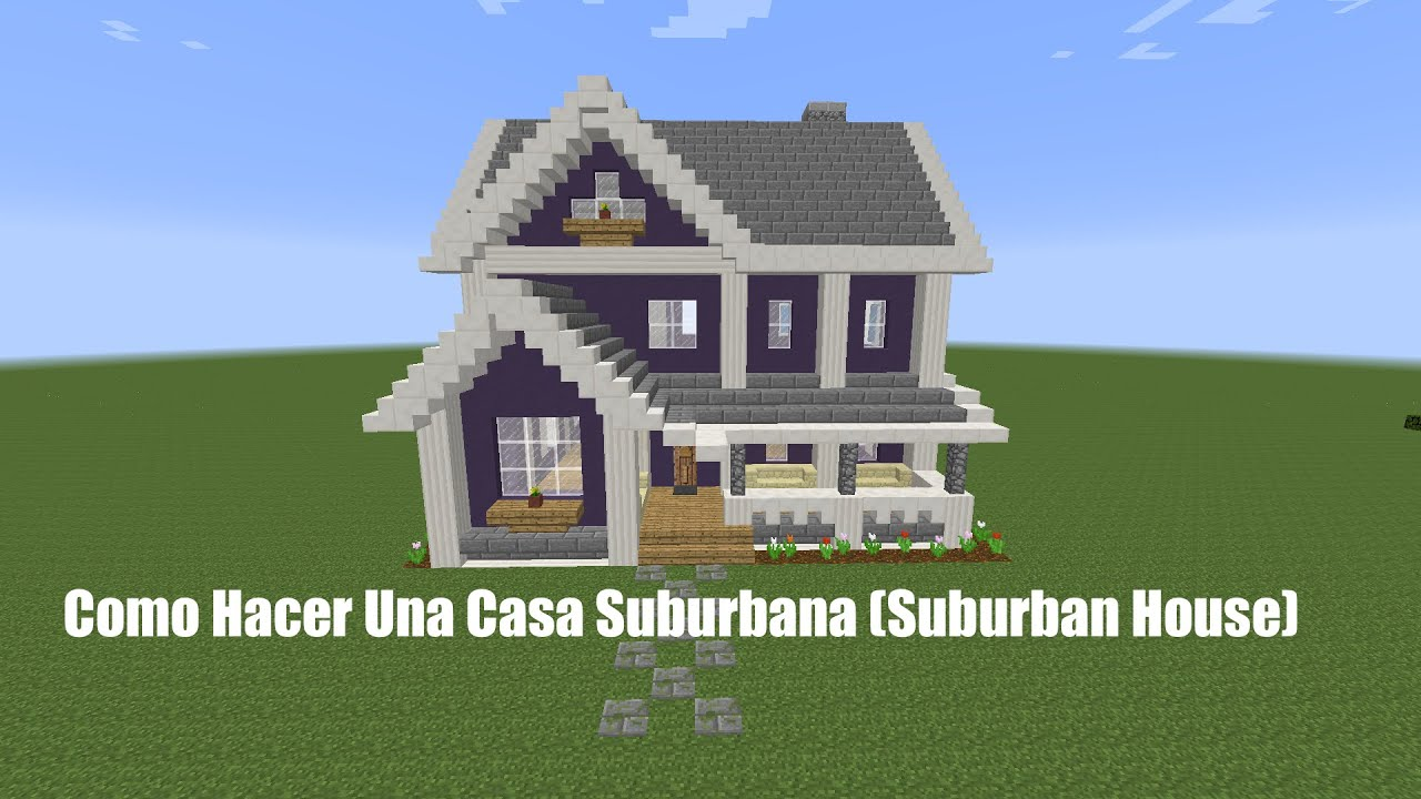 Como hacer una casa suburbana pt2 suburban house youtube - Como construir una casa ...