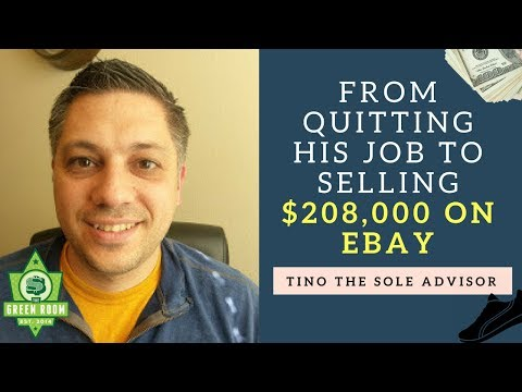 From Quitting His Job To Selling $208,000 on Ebay in 2016