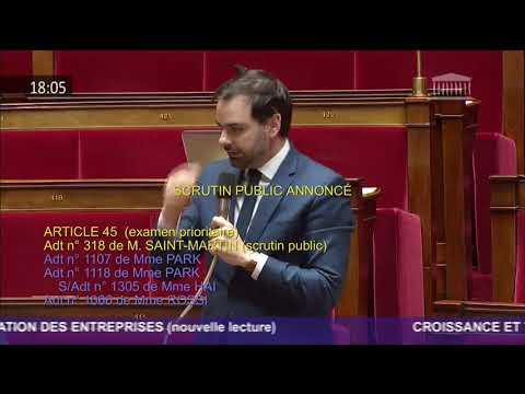 Intervention 1 du député Laurent Saint-Martin sur l'amendement n°318 sur les nuisances aériennes