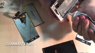 Замена стекла и экрана Huawei P7 (Huawei P7 lcd glass repair)