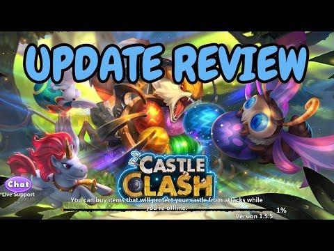April Update Review L Castle Clash