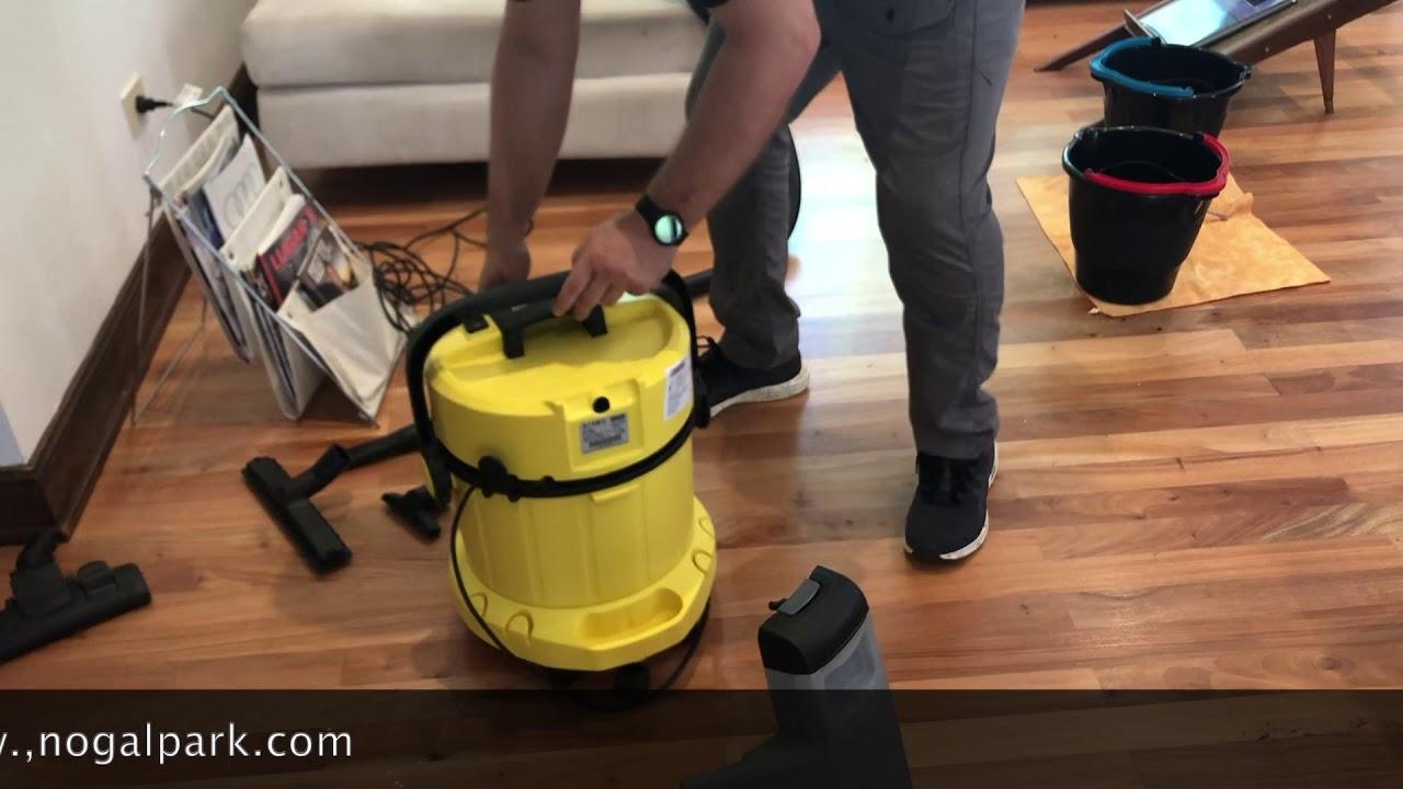 Lava-aspiradora con cable aspiradora de seco y h/úmedo 1400 W y 4+4 litros de dep/ósito de agua limpia // sucia K/ärcher SE 4001