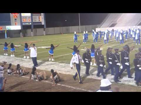 Burke High School Homecoming Game Half-time 2105