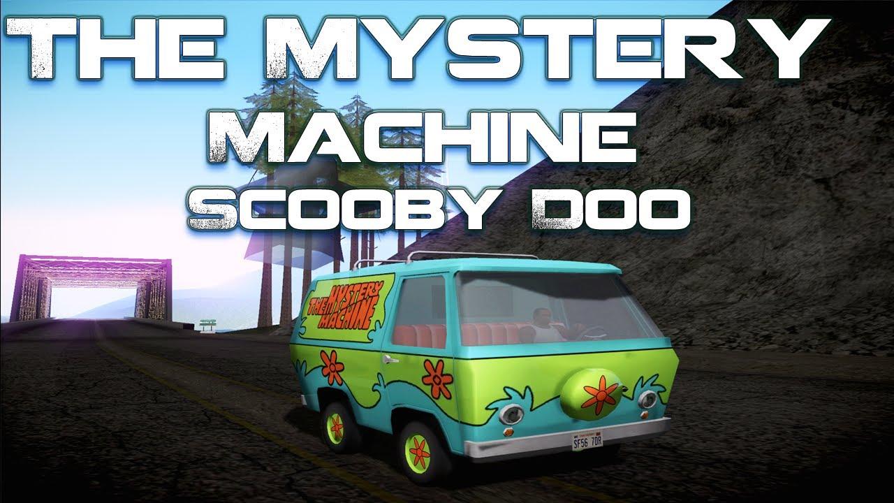 gta v mystery machine