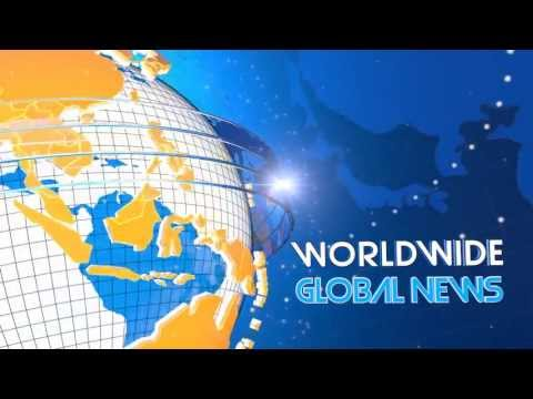 GLOBAL NEWS BROADCASTING ANIMATION PACKAGE - AFTER EFFECTS TEMPLATE