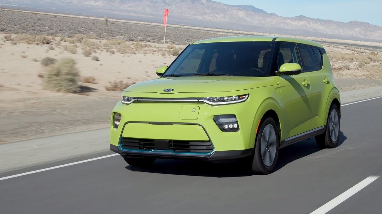 2020 Kia Soul Ev Youtube