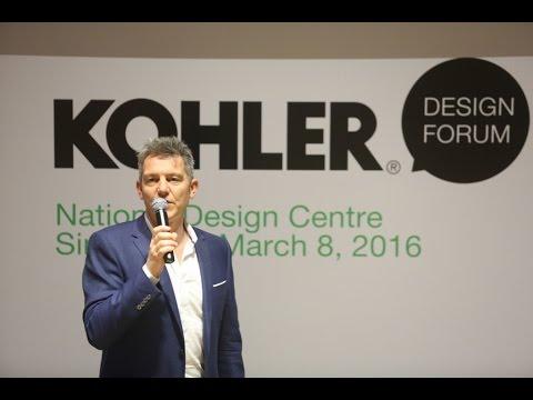 KOHLER Design Forum: Mark Bickerstaffe