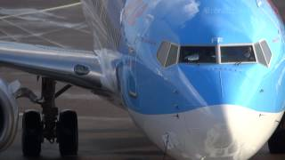 Download Video ArkeFly - Boeing 737-86N (PH-TFF) Pushback, Engine Start & Taxi- Amsterdam (AMS/EHAM) MP3 3GP MP4