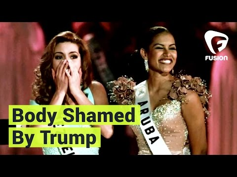 Former Miss Universe Alicia Machado on Being Body Shamed by Donald Trump: