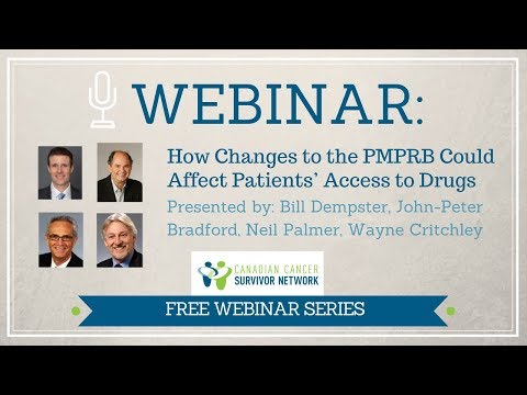 WEBINAR: How Changes to the PMPRB Could Affect Patients' Access to Drugs