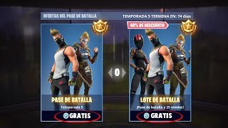 GET THE BATTLE PASS 5 COMPLETELY FREE!! | FORTNITE BATTLE ROYALE
