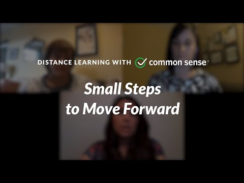 Distance Learning With Common Sense: Small Steps To Move Forward