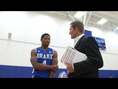 2017-18 Drake Men's Basketball Media Day