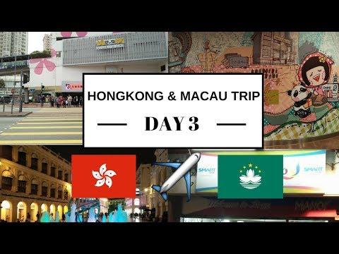 Hong Kong & Macau Trip 2017 (Day 3) Hello Macau!