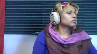 sheyla lopez at the Mega radio station Thumbnail