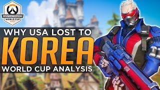 Overwatch: Why USA Lost to Korea - World Cup Pro Analysis