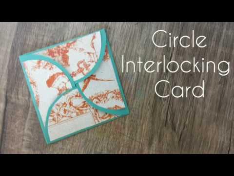 Circle Interlocking card | DiY 23 | Fun Pass