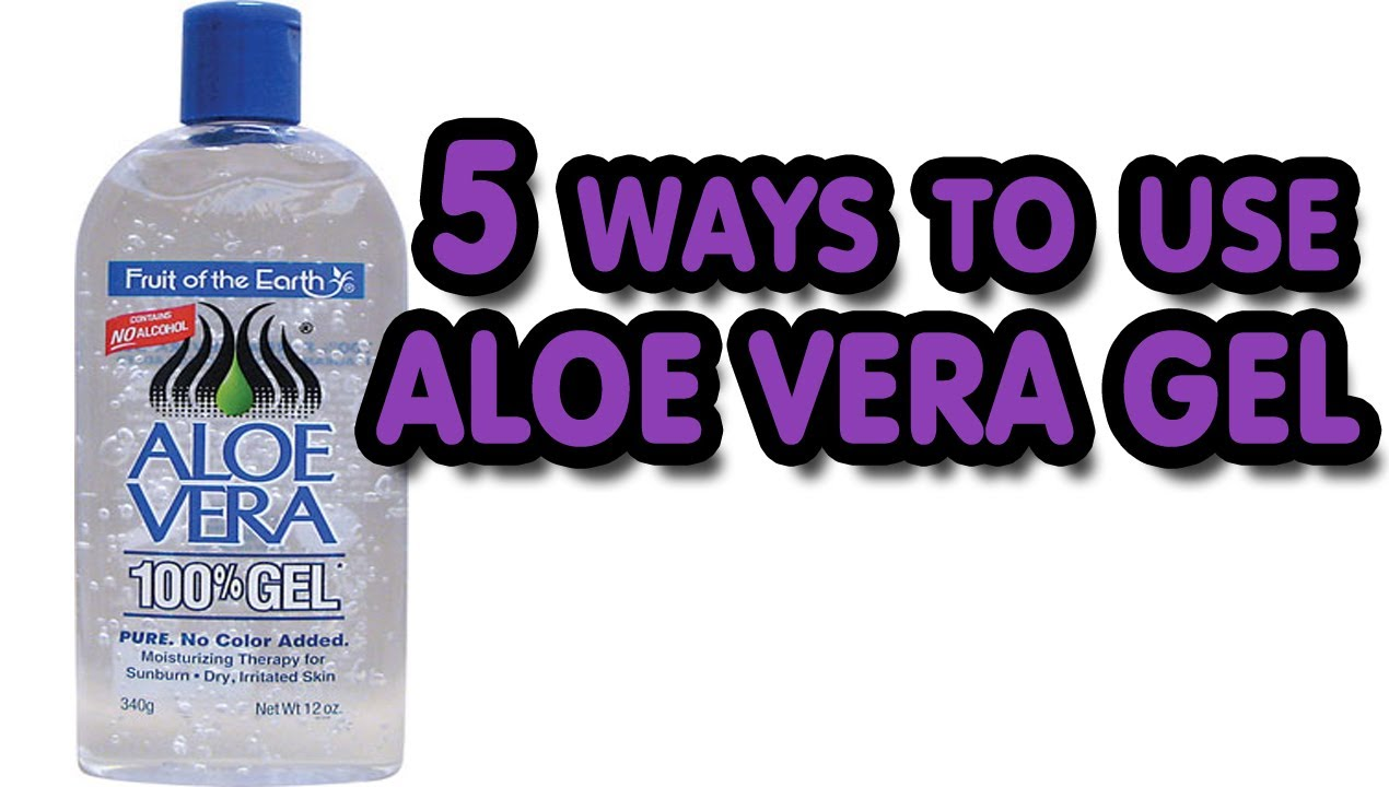 5 Ways To Use Aloe Vera Gel Youtube
