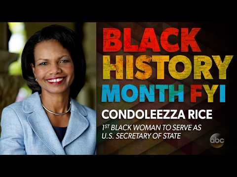 Black History Month FYI: Condoleezza Rice | The View