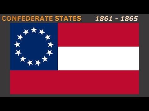 flags of extinct states of america vlajky zaniklých států amerika