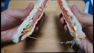 보만 샌드위치 메이커로 손쉽게 샌드위치 만들자(lets…
